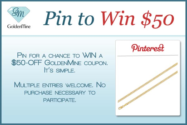 Pin to Win Contest Flyer