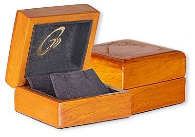 Elegant Beachwood Earrings Box Upgrade