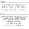 Laser Engraving - Block Print