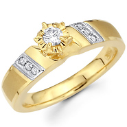 Diamond Engagement Rings With Side Stones