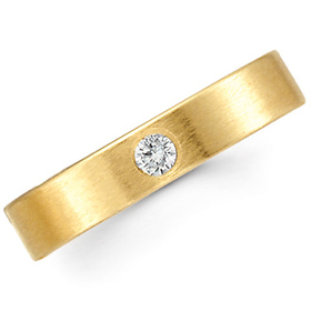 Gold Benchmark Ring