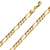 14K-18K Gold Figaro Chain 6mm