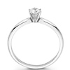 14K Gold Round Diamond Solitaire Engagement Ring (0.20 - 1.50 ct)