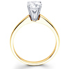 Classic 14K Gold Round Diamond Engagement Ring (0.20 - 1.50 ct)