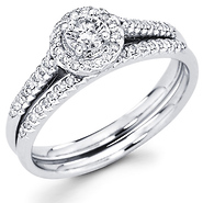 wedding rings sets - enhancer style