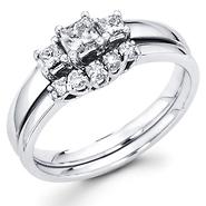 Princess Cut Diamond Engagement Rings