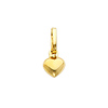 14K Small Heart Pendant