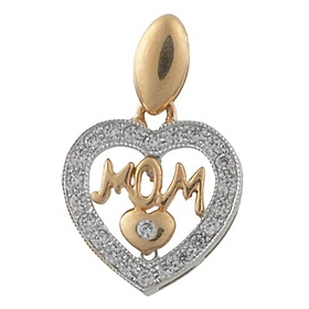 Gold Mother Pendant