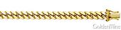 14K Yellow Gold Miami Cuban Link Chain 6mm
