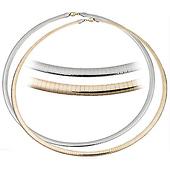 4mm Reversible Omega Necklace