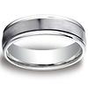 6mm Platinum Comfort Fit Band