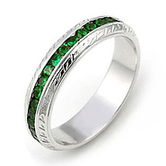 Tsavorite / Green Garnet Jewelry