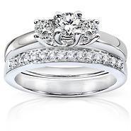 3 Stone Diamond Engagement Rings