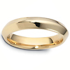 Sempronius 4.00 mm 14K Yellow Gold Wedding Band
