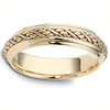 5.50 mm 14K Two Tone Woven Dora Wedding Band