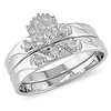 1/7 CT Diamond TW Engagement Ring 14k White Gold GHI I2;I3