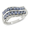 Sterling Silver 1.13 CT TGW Sapphire Fashion Ring