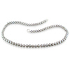 5-6mm Grey Potato Freshwater Pearl Necklace Strand