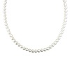 54in 6.5-7mm Freshwater White Potato Pearl Endless Necklace