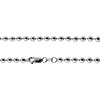 4mm Ball Link 14K White Gold Chain Necklace