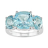 Sterling Silver 8.40 CT TGW Blue Topaz - Sky Fashion Ring