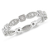 10K White Gold 0.20 CTW Diamond Eternity Ring