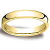 4.5mm European Comfort-Fit 14K Yellow Gold Benchmark Ring