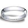 4.5mm European Comfort-Fit Palladium Benchmark Ring