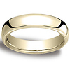 5.5mm European Comfort-Fit 14K Yellow Gold Benchmark Ring