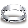 6mm Classic High Polished Cobaltchrome Wedding Band