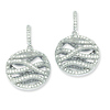 Elliot Skye .925 Sterling Silver Cubic Zirconia Round Earrings