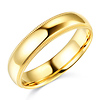 5mm Traditional Milgrain Yellow Gold Wedding Band (available in 10K, 14K & 18K)