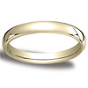 3.5mm European Comfort Fit Yellow Gold Wedding Band (available in 10K, 14K & 18K)