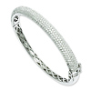Elliot Skye Sterling Silver Micro Pave CZ 6.25mm Bangle Bracelet