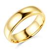 5mm Lite COMFORT FIT Milgrain 14K Yellow Gold Wedding Band Ring