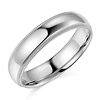 5mm Milgrain Lite COMFORT FIT 14K White Gold Wedding Band