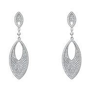 Dangle Silver Earrings | GoldenMine