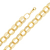 Light Fashion Link 14K Yellow Gold Bracelet