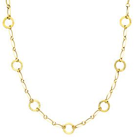 fancy women's gold necklace