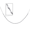 Fancy 14K White Gold Link Necklace for Women