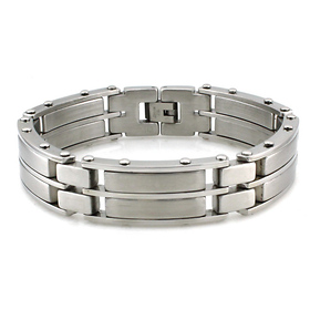 steel men's bracelets
