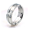 Titanium Rivet Crystal Band