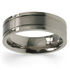 7mm Flat Titanium Band