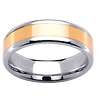 6.5 14k Two Tone Gold Wedding Ring