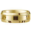 14k Yellow Gold Milgrain Designer Band