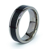 7mm Titanium Carbon Fiber Inlay Band