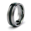 8mm Carbon Fiber Inlay Tungsten Band